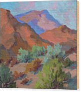 View From Santa Rosa - San Jacinto Visitor Center Wood Print