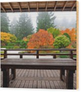 View From The Pavilion Wood Print