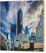 View From Tribeca Wood Print