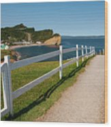 View In Perce Quebec Wood Print