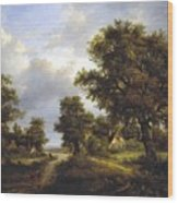 View In Sussex Wood Print
