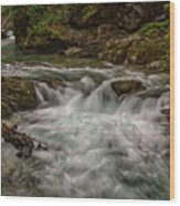 View In Vintgar Gorge #2 - Slovenia Wood Print