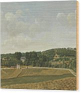 View Of Chatenay Wood Print