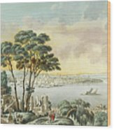 View Of Constantinople From The Marmara Sea Wood Print