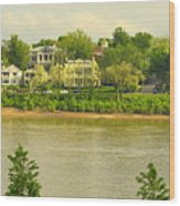 View Of Covington Kentucky Wood Print