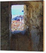 View Of Dubrovnik  Wood Print