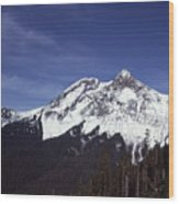 View Of Garibaldi Mountain Wood Print