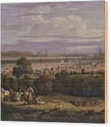 View Of Greenock  Scotland 1816 By Robert Salmon Wood Print