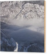 View Of Julian Alps From Vogel Mountain Wood Print