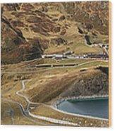 View Of Kleine Scheidegg Wood Print