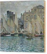 View Of Le Havre Wood Print