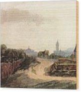 View Of Nuremberg 1497 Wood Print