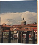 View Of San Pietro In Venice Wood Print