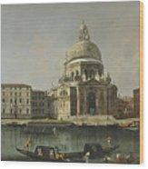 View Of Santa Maria Della Salute. Venice Wood Print