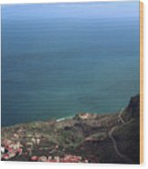 View Of Teide From La Gomera Wood Print