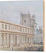 View Of The Ecole De Medecine Wood Print