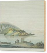 View Of The Island Wood Print
