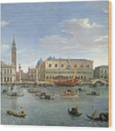 View Of Venice From The Island Of San Giorgio Wood Print