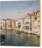 View Of Venice Wood Print