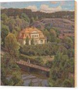 View Over Billnas Wood Print
