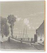 View The Veerweg Culemborg, Jan Weissenbruch, 1847 - 1865 Wood Print