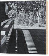 View Thru Ware Covered Bridge Wood Print