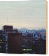 View Toward Saint Lawrence Wood Print