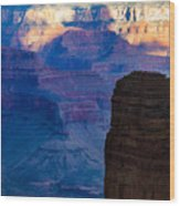 View Toward Vishnu Wood Print