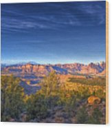 View Zion From Afar Wood Print