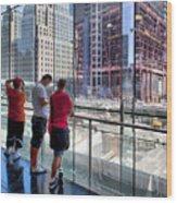 Viewing Ground Zero 2 Wood Print