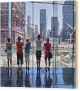 Viewing Ground Zero Wood Print