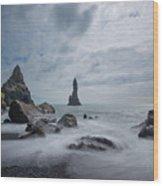 Vik Iceland Wood Print
