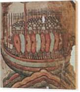 Viking Invasion 919 Wood Print