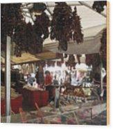 Viktualienmarkt - Munich Wood Print