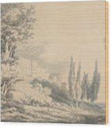 Villa D'este Wood Print