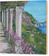 Villa San Michele In Anacapri Wood Print