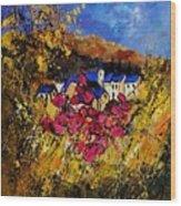 Village 450808 Wood Print