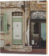 French Village Doors Wood Print