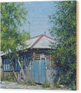 Village Line. Summer Wood Print