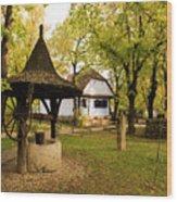 Village Museum Wood Print