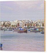 Village Of Fishermen Wood Print