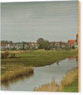 Village Of Kinderjik Netherlands Wood Print