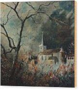 Village Vivy Wood Print