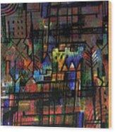 Ville Francaise Wood Print