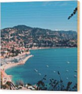 Villefranche Sur Mer Wood Print by FCremona