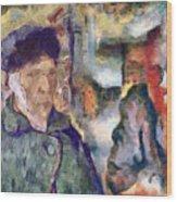 Vincent And Lalo-take 1 Wood Print