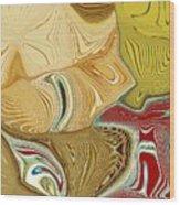 Vincent Meets Pablo Wood Print