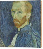 Vincent Van Gogh Self-portrait 1889 Wood Print