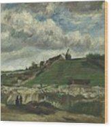 Vincent Van Gogh, The Hill Of Montmartre With Stone Quarry, Paris Wood Print