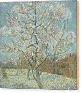 Vincent Van Gogh, The Pink Peach Tree Wood Print